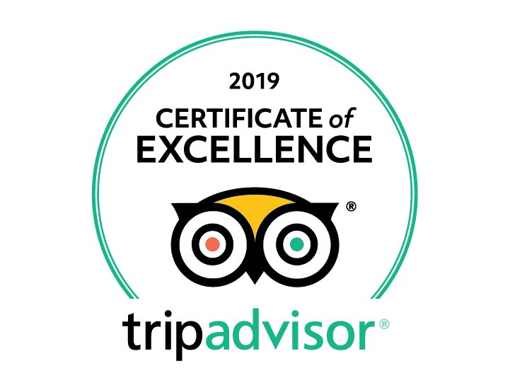 tripadvisor 2019 certificate of excellence for wanderbeak barcelona food tours, tapas tours and wine tasting