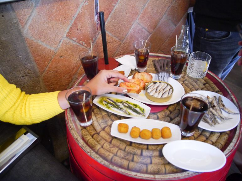 Discover the traditions of vermouth in Barcelona on a market to tapas tour