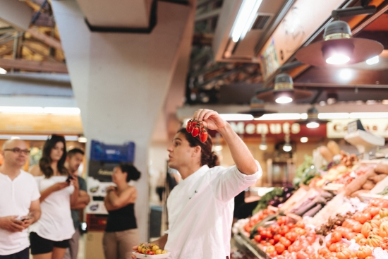 Private Barcelona Market Tour and Cooking Class with Wanderbeak
