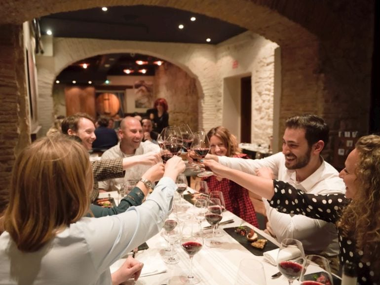 The final stop on the perfect pairing Barcelona wine tour and food tasting. pic courtesy of www.saralarssonphotography.com