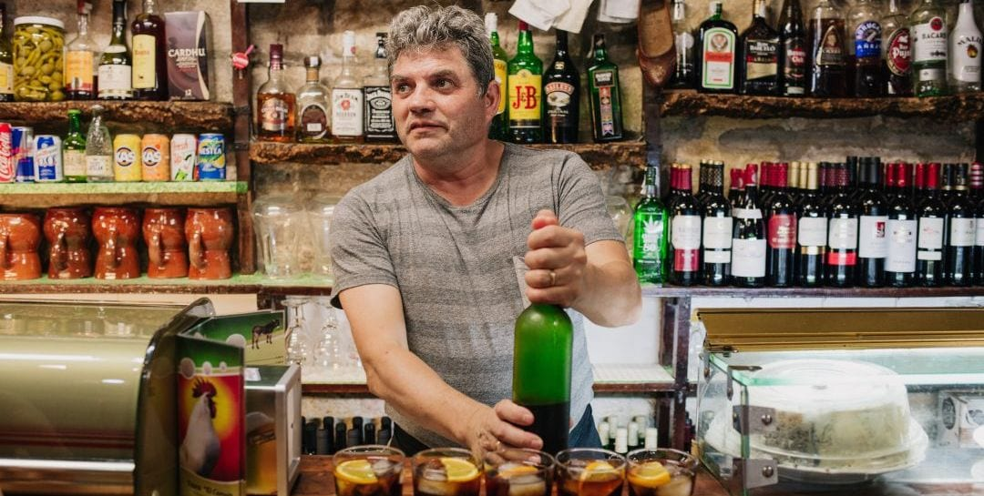 One of our favourite tapas bars, on Born to Eat, a Barcelona Tapas & Wine Tour with Wanderbeak Tours