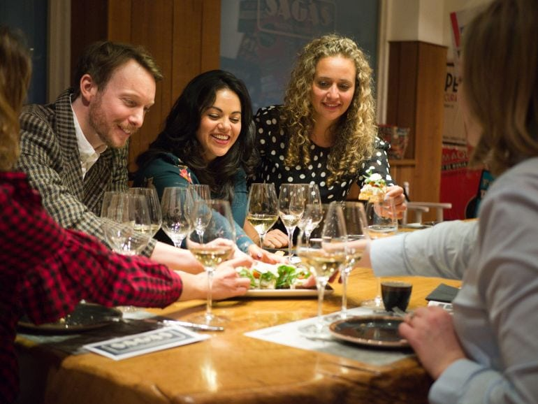 delicious food on the perfect pairing - The Perfect Pairing - Barcelona Wine Tour & Food Pairing with wanderbeak tours
