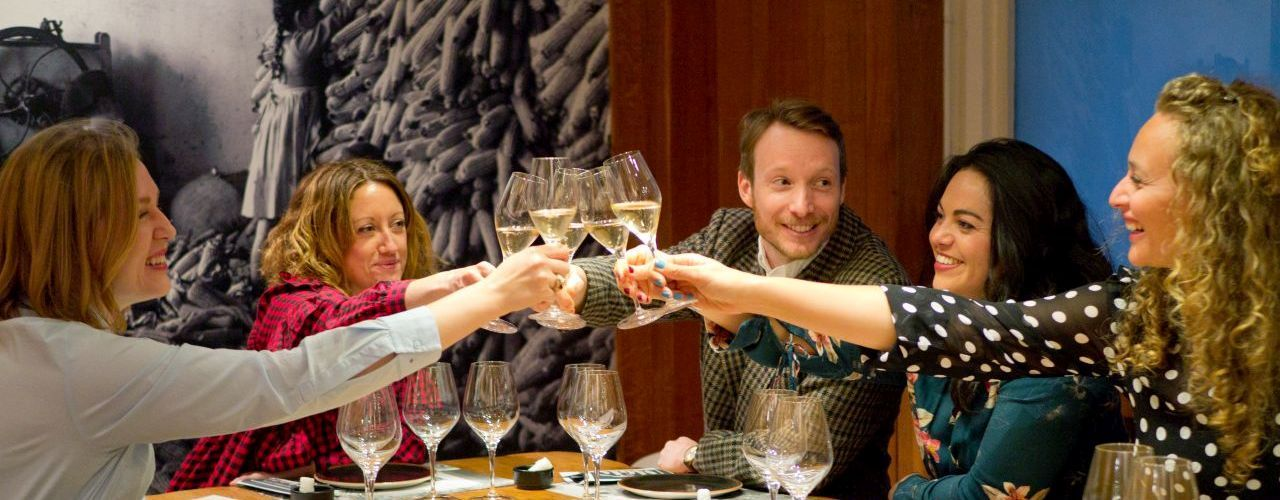 The Perfect Pairing - Barcelona Wine Tour & Food Pairing cheers