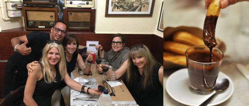Churros, chocolates and new friends on a Savor Spain Barcelona Food Tour with Wanderbeak